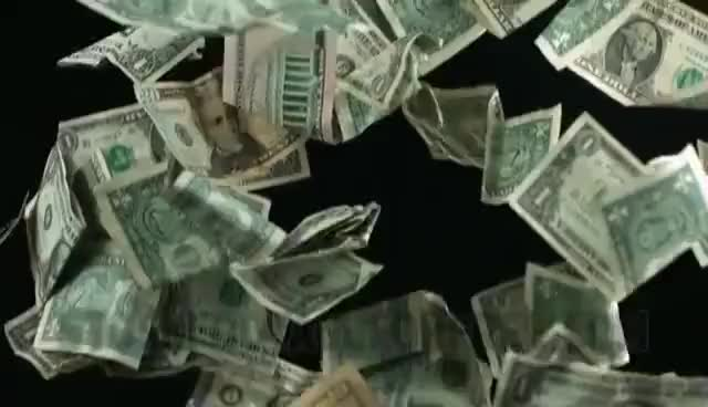 free hd stock footage slow motion falling money find make