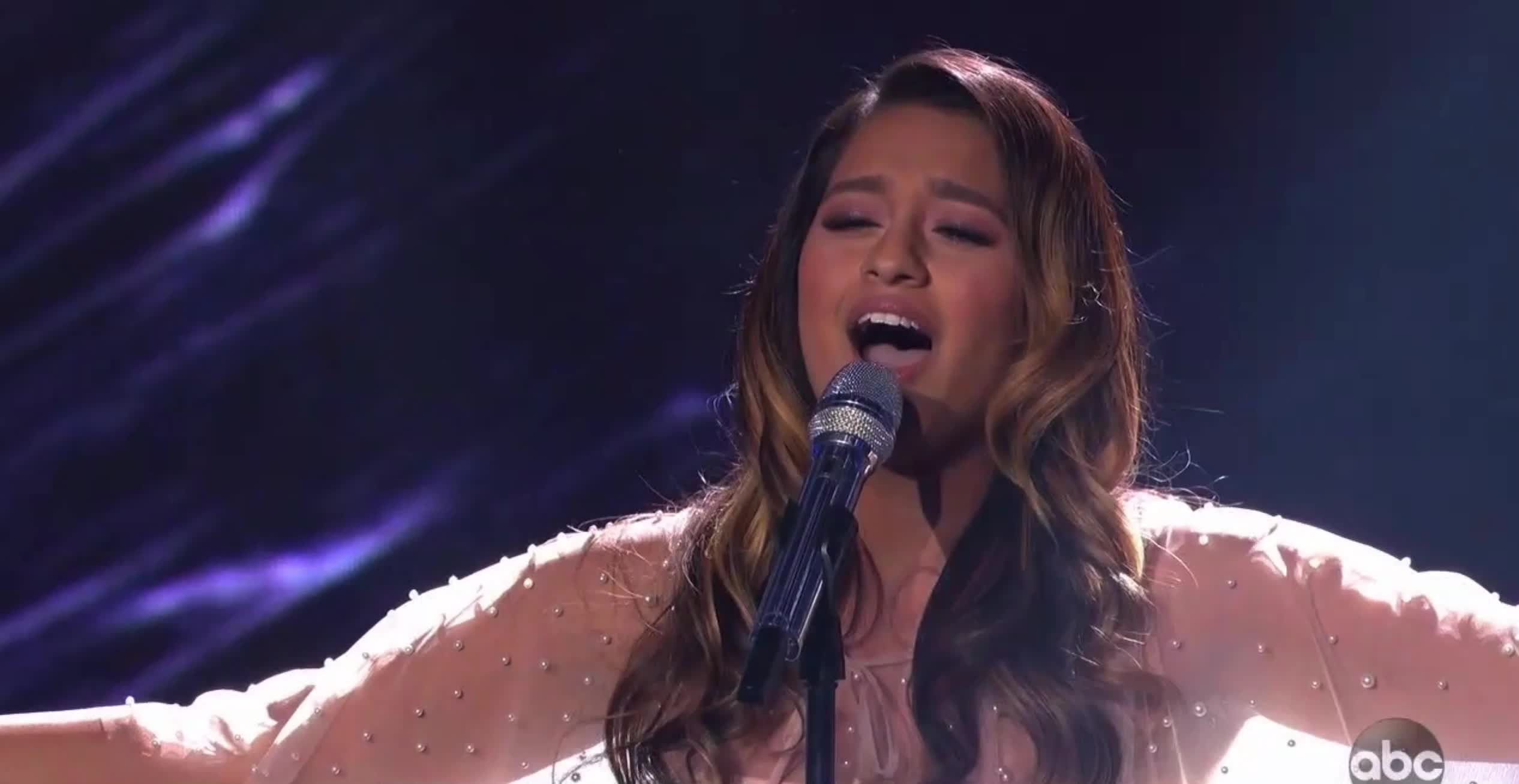 alyssa raghu, american idol, american idol season 17, americanidol, katy perry, lionel richie, luke bryan, ryan seacrest, season 17, singing, American Idol Alyssa on the High Note GIFs