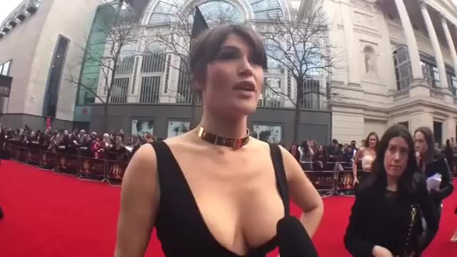 Watch and share Gemma Arterton - Olivier Awards @ TopCelebStuff GIFs by celeb love on Gfycat