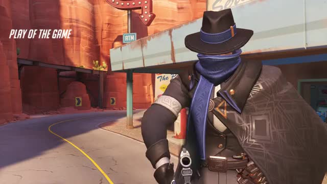 Watch highlight GIF by Jeremy (@jeremyho112) on Gfycat. Discover more mccree, overwatch, potg GIFs on Gfycat