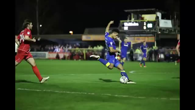 Watch Lyle Taylor AFC Wimbledon GIF on Gfycat. Discover more afc, wimbledon GIFs on Gfycat