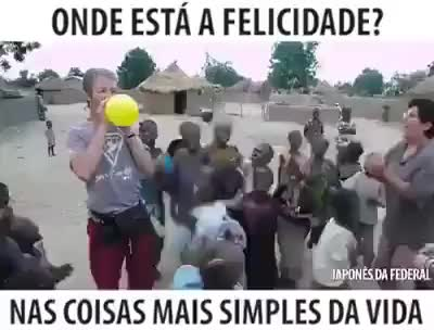 Watch and share African Childrens Happy Yelow Baloon GIFs on Gfycat