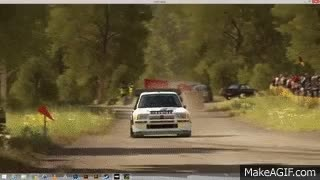 Watch and share Flugzeugring Reverse - Peugeot 205 GTi Group B - Max Attack GIFs on Gfycat