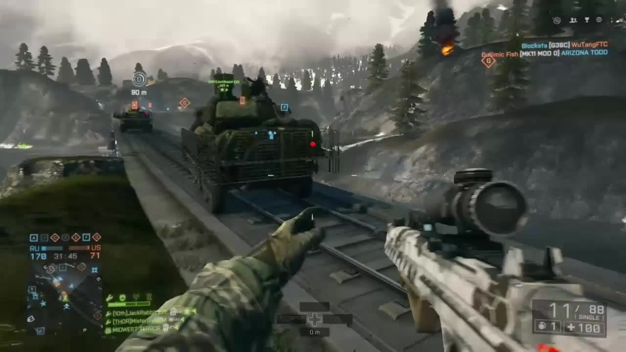 battlefield_4, elonmusk, What to do when you run out of rockets. (reddit) GIFs