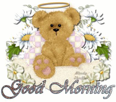 Good Morning Teddy Bear Gif Find Make Share Gfycat Gifs