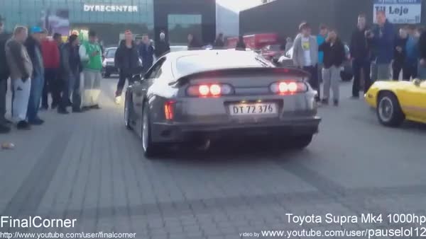Watch and share 1000hp Toyota Supra Burnout + Exhaust Sound (reddit) GIFs on Gfycat