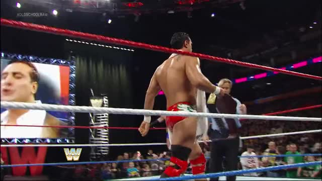 Watch Here's the belt GIF by Blaze Inferno (@metaknightxprophets) on Gfycat. Discover more Alberto Del Rio, Charles Robinson, March 2013, Old School Raw, Ricardo Rodriguez, Wade Barrett GIFs on Gfycat
