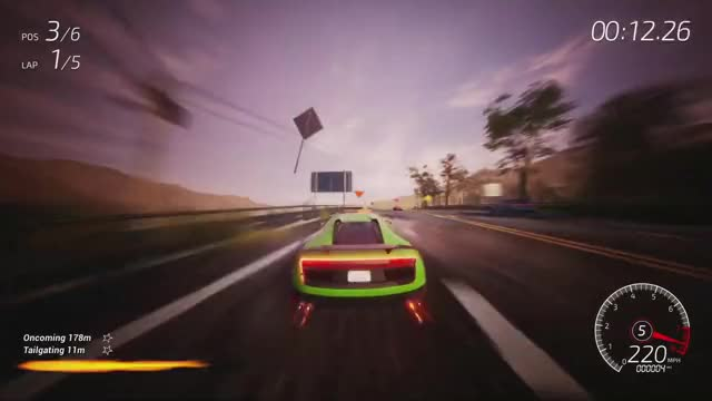 Watch Dangerous Driving - Announcement Trailer GIF on Gfycat. Discover more Dangerous Driving, dangerous driving release, dangerous driving trailer, epic games store, game, games, gaming, juego, racing game, video game GIFs on Gfycat