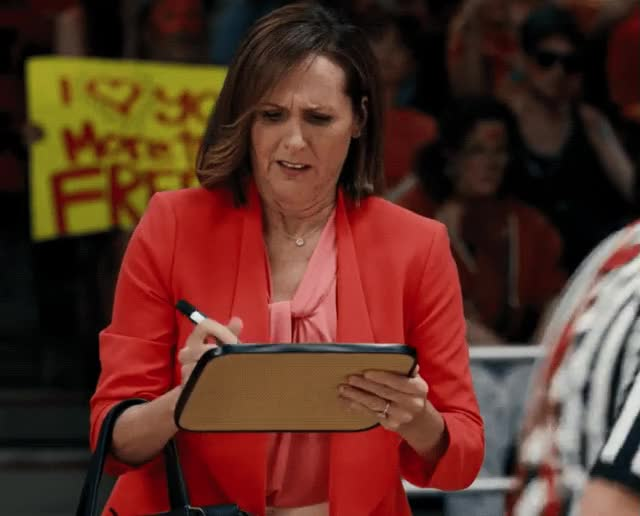 Watch this trending GIF by The GIF Smith (@sannahparker) on Gfycat. Discover more Molly Shannon, help, swish swish, the struggle GIFs on Gfycat