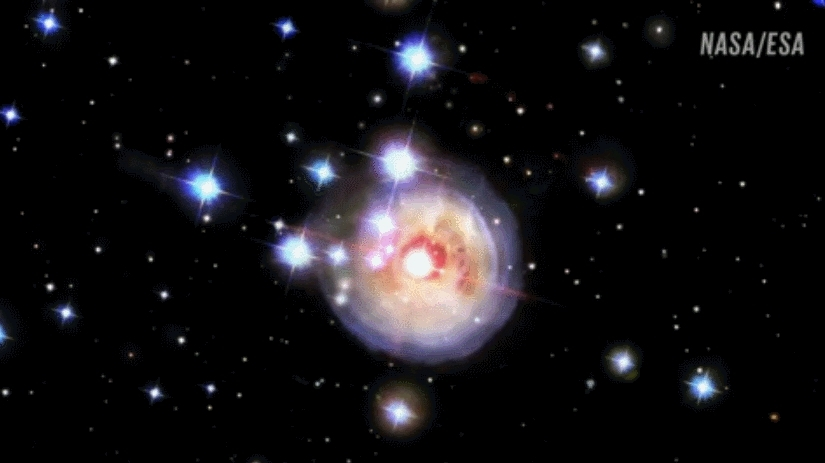 SpaceGifs, educationalgifs, gfycatdepot, Star Explosion GIFs