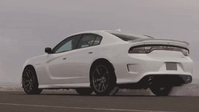 Watch and share How The Dodge Charger SRT Hellcat Compares To The World's Other Fast Sedans GIFs on Gfycat