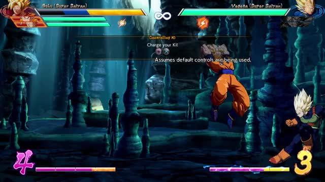 Watch DBFZ Goku 6M 5L corner link GIF by @alzarath on Gfycat. Discover more dbfz, dbz, dragon ball fighterz GIFs on Gfycat