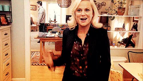 Watch and share Leslie Knope GIFs on Gfycat