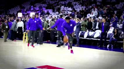 Watch and share Joel Embiid — Philadelphia 76ers GIFs by Off-Hand on Gfycat