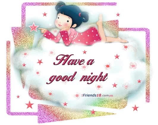 Watch and share Have A Good Night Greeting Ecard GIFs on Gfycat