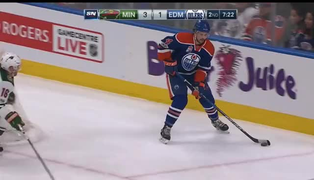Watch and share Pouliot Cheating For Offence GIFs by cultofhockey on Gfycat