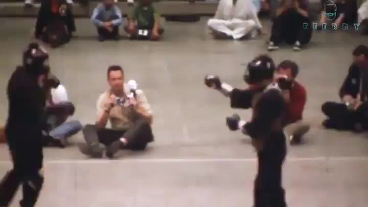 Bruce Lee's only real fight ever recorded on video GIFs