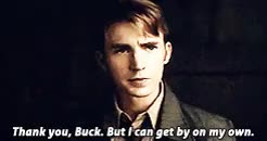 Watch and share Captain America 2 GIFs and Bucky Barnes GIFs on Gfycat