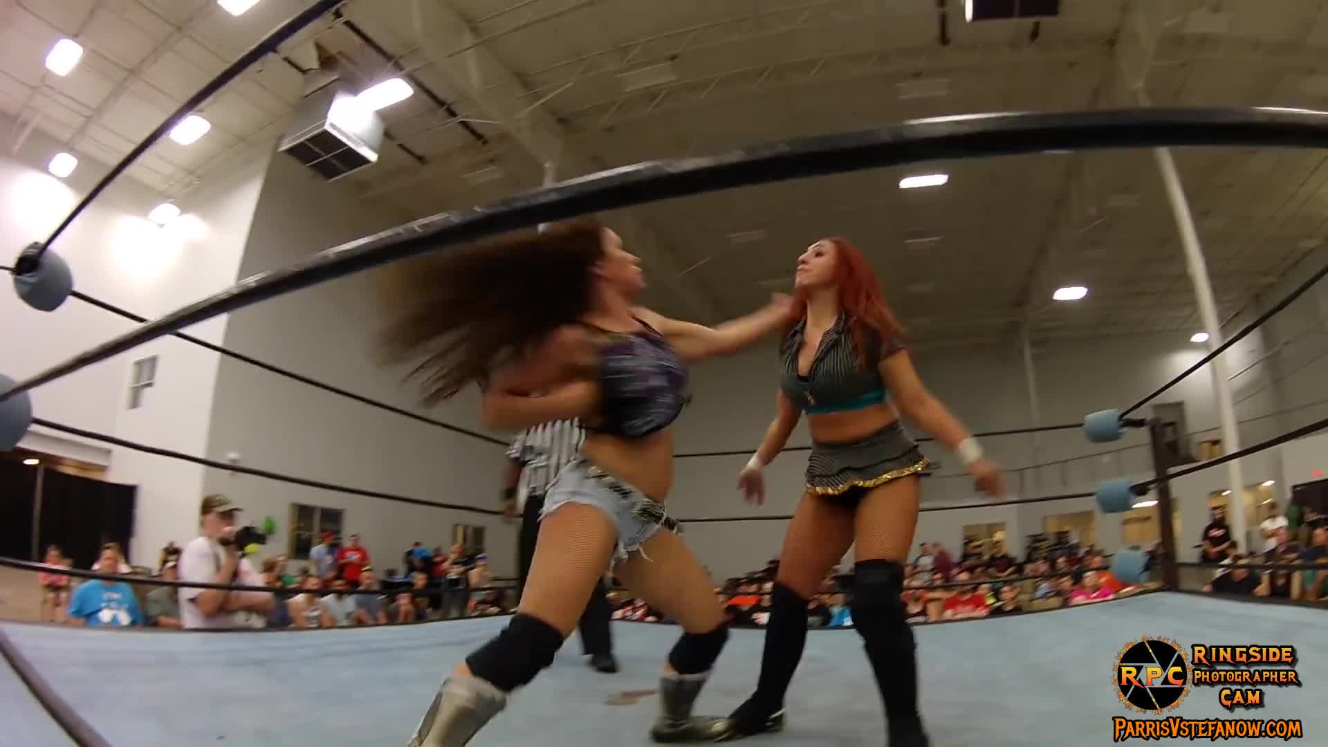 mickie james, parris v stefanow, ringside photographer cam, mickie GIFs