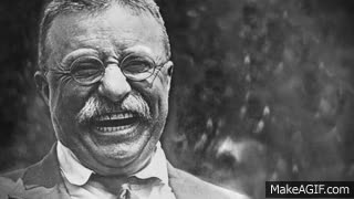 Watch and share Epic Rap Battles Of History News With Teddy Roosevelt 2 GIFs on Gfycat