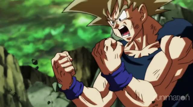 Power Up Goku Gif By Dragon Ball Super At Dragonballsuper Find