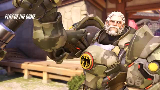 Watch and share Overwatch GIFs and Reinhardt GIFs by dokkaebi on Gfycat
