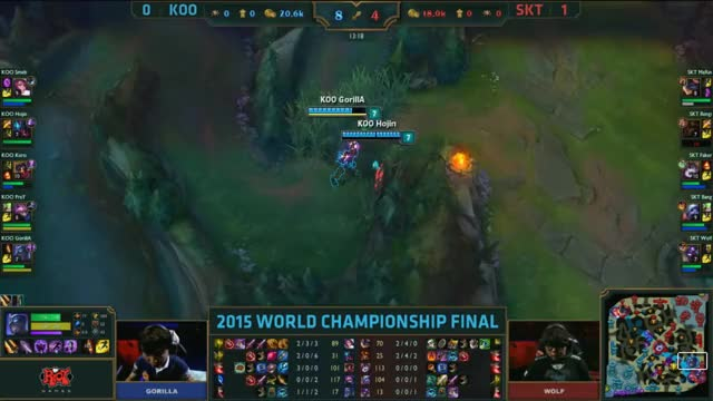 Watch and share [Worlds 2015] SKT Faker #5 KOO GIFs by ITCC on Gfycat