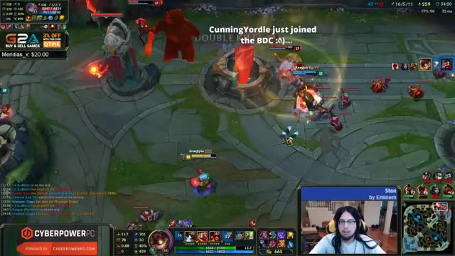 Imaqtpie Tower in One Shot With Ziggs ADC