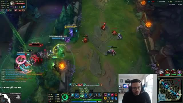 WHEN YOU HAVE TO FACE VIPERS RIVEN !! 73% WIN RATE RIVEN - Aphromoo Solo Queue Highlights
