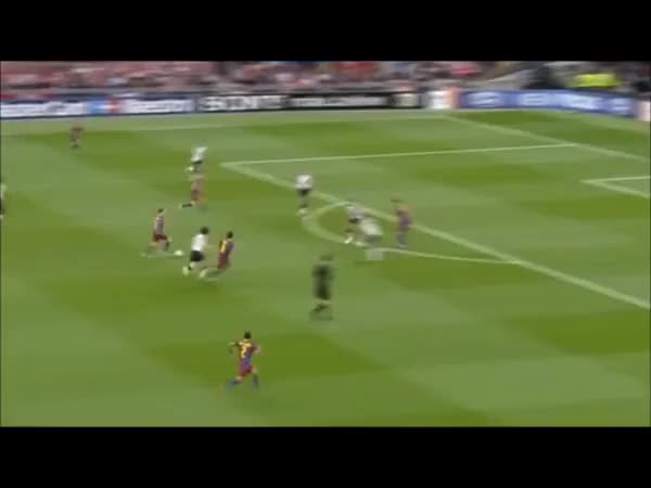 Watch and share Vidic Tackles Messi (reddit) GIFs on Gfycat