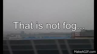 Watch and share Beijing Air Pollution (before And After The Rain) From The High Speed Train GIFs on Gfycat