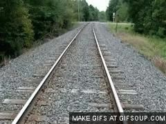 Watch and share Fahrenheit 451 Railroad Tracks GIFs on Gfycat