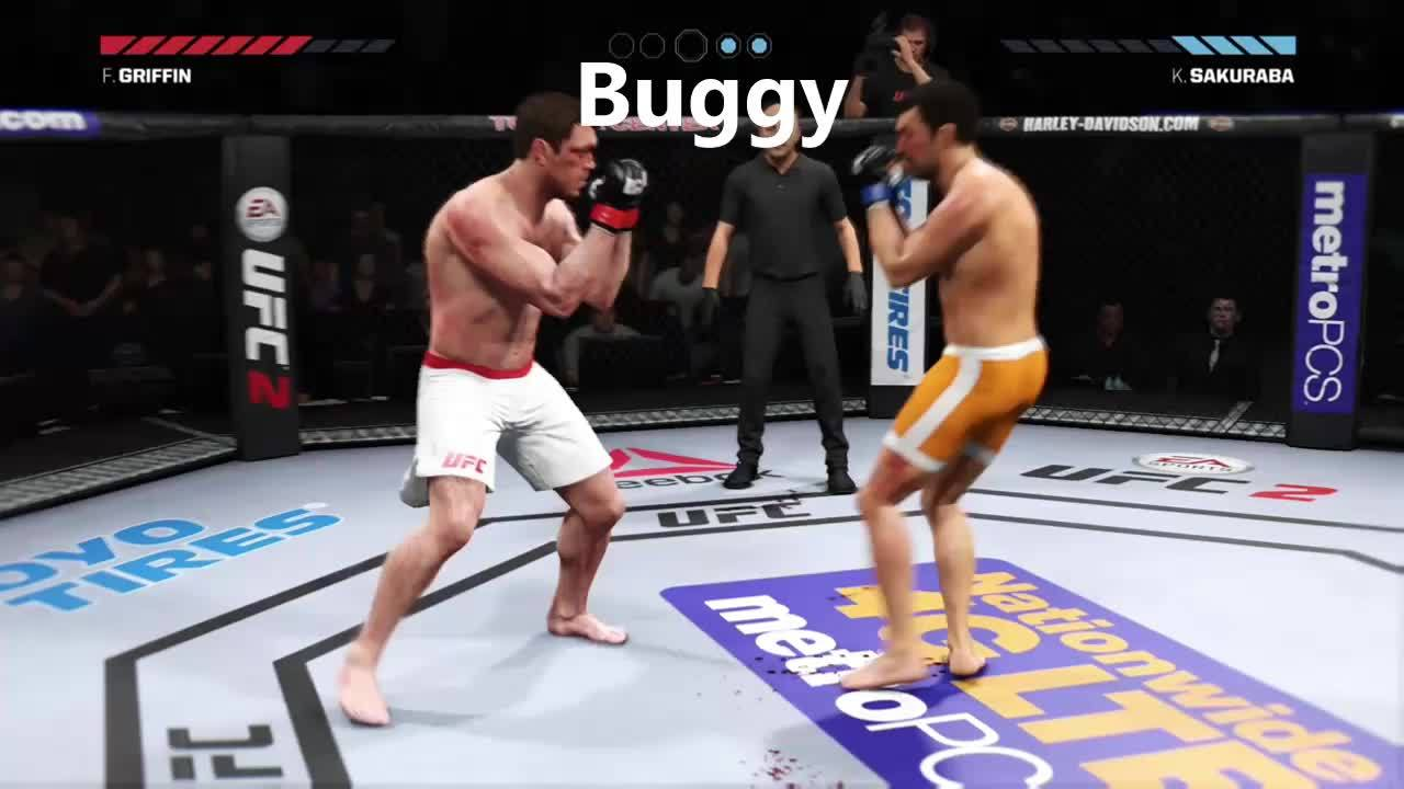 easportsufc, gaming, Insane Kick GIFs