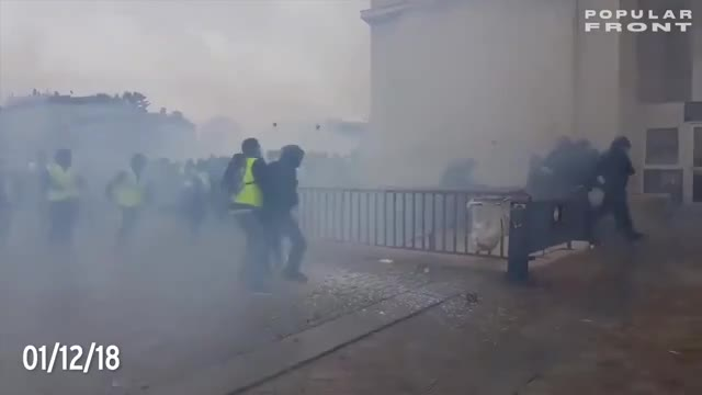 Watch and share Yellowvests GIFs and France GIFs on Gfycat