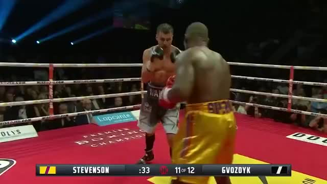 Watch Oleksandr Gvozdyk Stuns Adonis Stevenson in the 11th GIF by @redditmedia on Gfycat. Discover more boxing GIFs on Gfycat