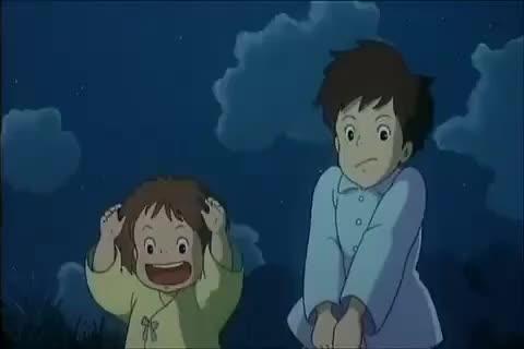 Watch and share Hehe Totoro GIFs on Gfycat