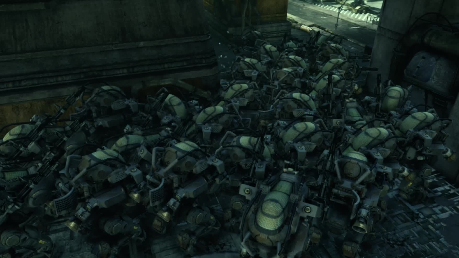 Hawken, bots, bots huddle together for warmth GIFs