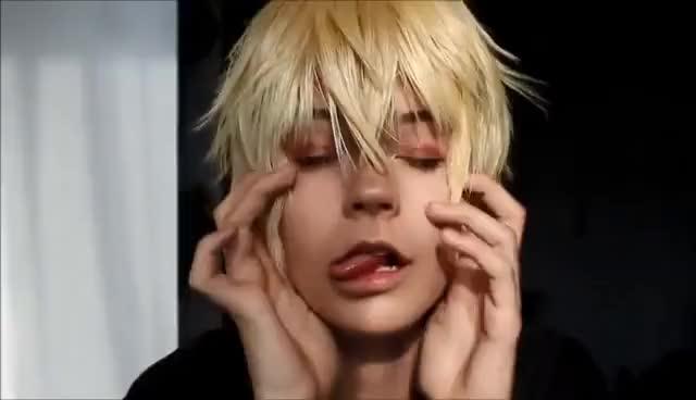 Watch and share Mikaela Hyakuya Makeup (OnS) GIFs on Gfycat