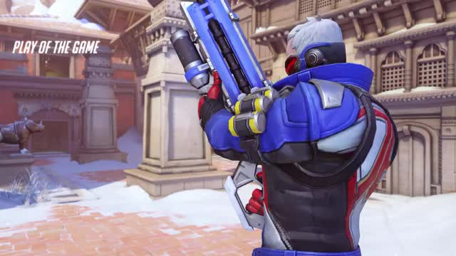 Watch No Mercy GIF on Gfycat. Discover more 5kill, POTG, overwatch, poggers, rampage, soldier:76 GIFs on Gfycat