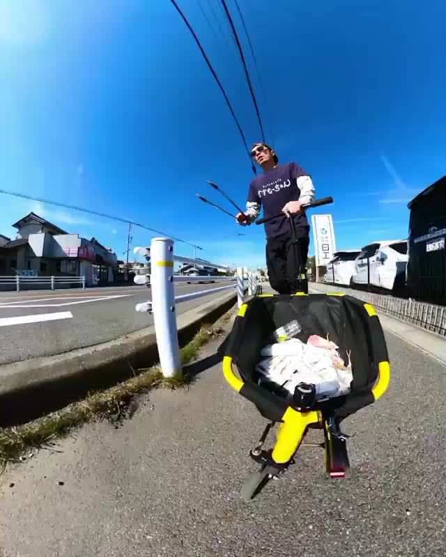 Watch and share Picking Up Trash With Style @plan8kuwabara GIFs by PrviAxiom on Gfycat
