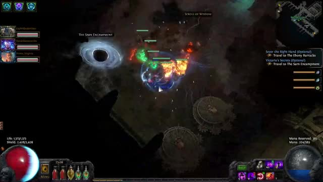 Watch and share Pathofexile GIFs by Imprecision on Gfycat