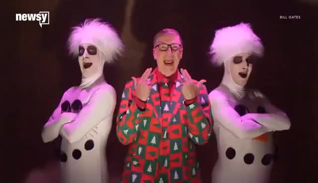 Watch Bill Gates spoofs SNL David Pumpkins skit GIF on Gfycat. Discover more related GIFs on Gfycat