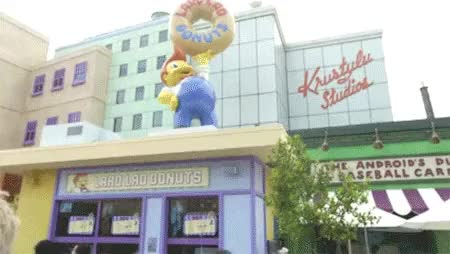 Watch Yahoo Entertainment GIF on Gfycat. Discover more lard lad donuts, millhouse van houten, springfield, the simpsons, universal studios hollywood, yahoo tv GIFs on Gfycat