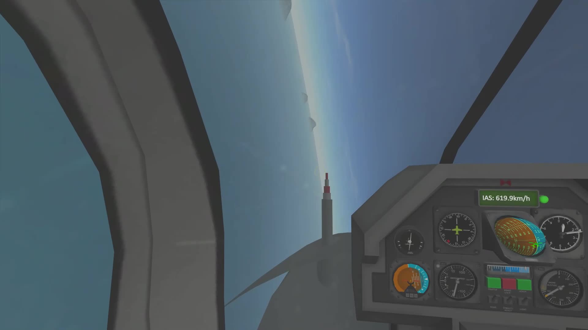 KSP, Kerbal Space Program, Kerbal Thunder, Close call with a MiG GIFs