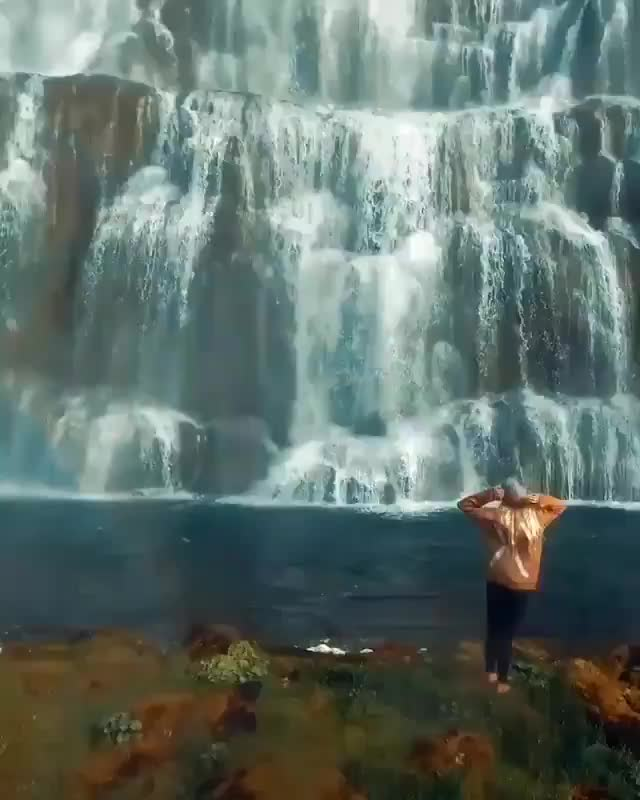 Watch and share Dynjandi Waterfall GIFs and Iceland GIFs by poly_429 on Gfycat