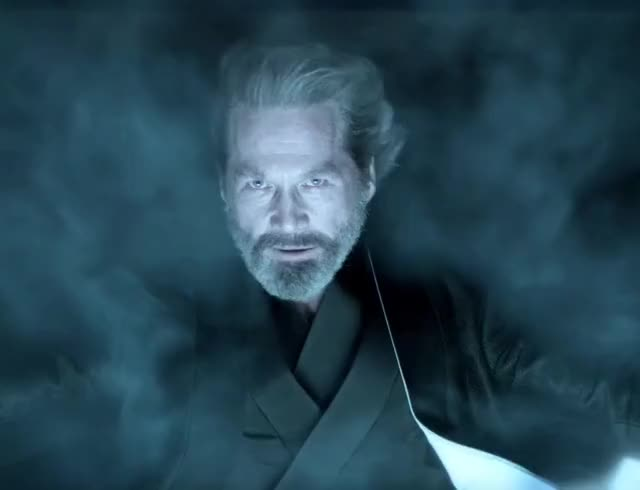 Watch and share Jeff Bridges GIFs and Tron Legacy GIFs by CAVEMAN VOICE on Gfycat