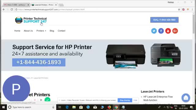 1844-436-1893 Hp laserjet printers support