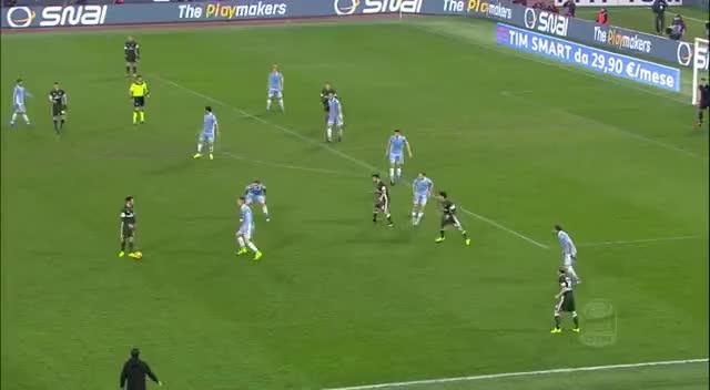 Watch and share Il Gol Di Suso - Lazio - Milan - 1-1 - Giornata 24 - Serie A TIM 2016/17 GIFs on Gfycat