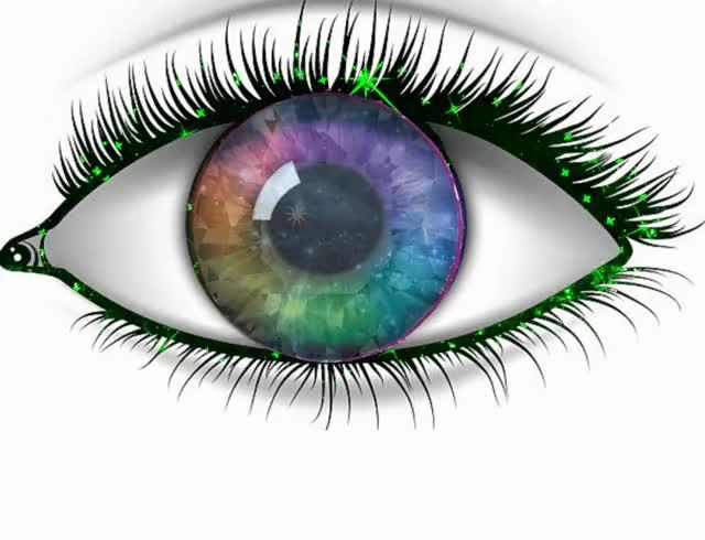 Watch blue rainbow eye GIF by Ryan ReModernist Keller (@pauljaisini) on Gfycat. Discover more related GIFs on Gfycat