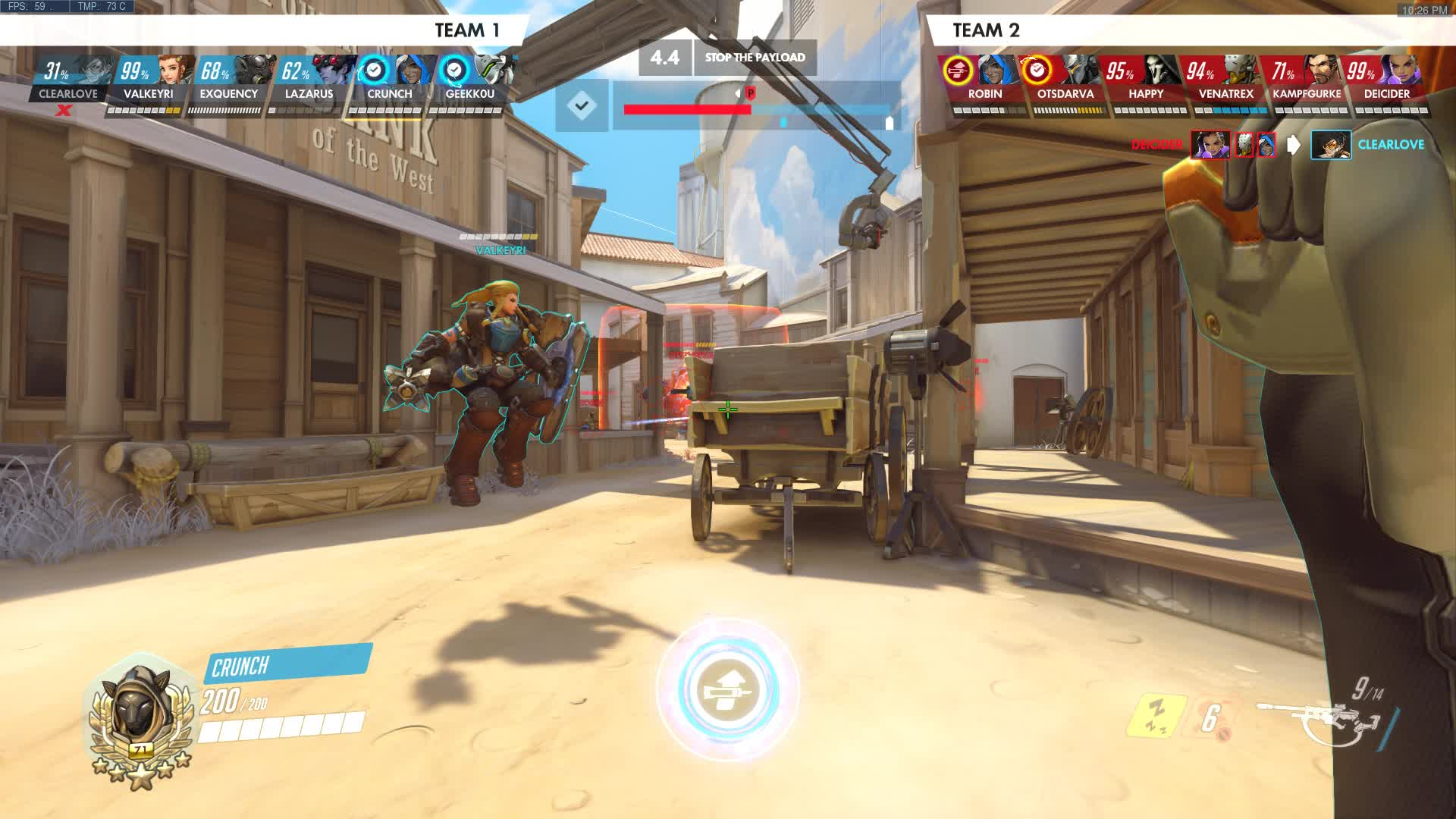 ana, overwatch, No luck only skill GIFs